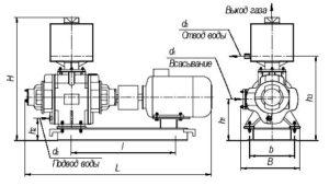 вакуумный насос ВВН1