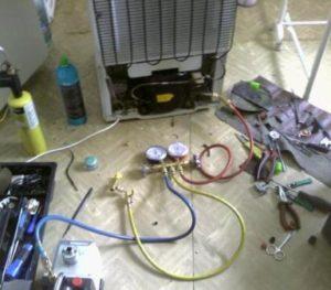вакуумный насос для ремонта холодильников