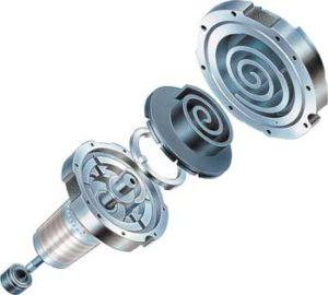 спиральный вакуумный насос - детали